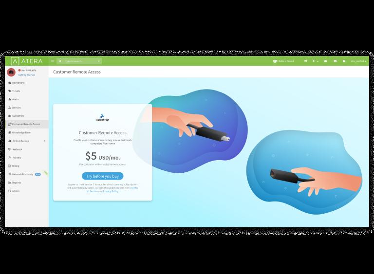 End User Remote Access