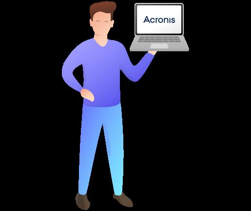 Backups in Echtzeit mit Acronis